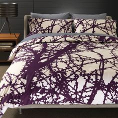Larch Plum Duvet. I need to get this duvet to go with my new quilt and sheets.