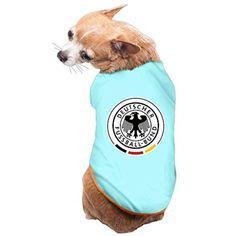 Deutscher Germany Eagle Badge PET SHIRT Dog T SHIRT Medium SkyBlue - Brought to you by Avarsha.com