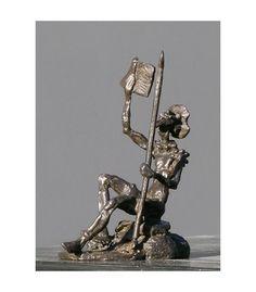 Escultura en bronce de Don Quijote, si te interesa te damos mas información en nuestra tienda online www.arteado.com #Arteado