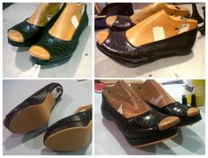 Zapatos taco negros 2
