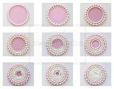 Sweet Ambs: Cookie Art: Basket Weave Tutorial