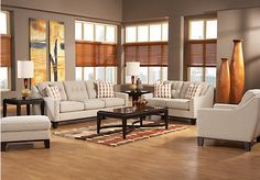 Shop for a Cindy Crawford Home Hadly 7 Pc Living Room at Rooms To Go. Find Living Room Sets that will look great in your home and complement the rest of your furniture.