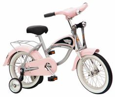 "14"" Morgan Retro Bicycle Pink"