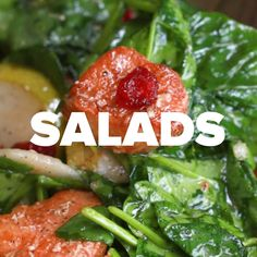 Healthy Chicken Salads 4 Ways #salad #healthy