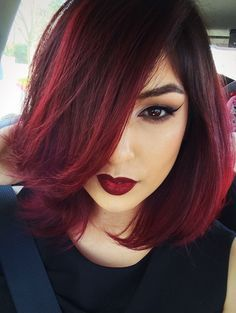 Red hair shadow roots