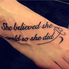 she believed she could so she did - Google Search