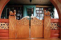 Dragestil = Norwegian Jugend - Katteporten, Villa Sole og Tunstua - http://www.home.no/halfdan.davidsen/katteporten2.jpg