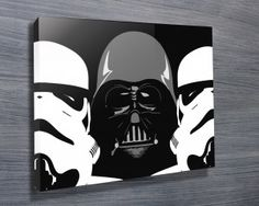 THREE AMIGOS $26.00–$741.00 This is an amazing Star Wars canvas pop art featuring Darth Vader and two storm troopers side by side. As with all art on this site, we offer these prints as stretched canvas prints, framed print, rolled or paper print or wall stickers / decals. http://www.canvasprintsaustralia.net.au/  #CanvasprintBrisbane #photosoncanvasPerth  #CanvasprintsMelbourne