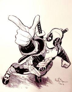 Deadpool by ReillyBrown on DeviantArt