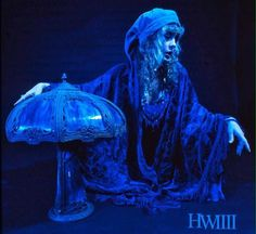 """Stevie Form the """"Blue Lamp"""" photo shoot segment of the """"Bella Donna"""" photo shoot. Stevie Nicks Bella Donna, Stevie Nicks Fleetwood Mac, Photo Gold, Hero's Journey, White Witch, Photo Boards, Look Vintage, Fairy Godmother, Wild Hearts"""