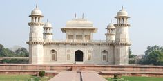 Itmad-Ud-Daulah's tomb, Agra - Often regarded as a draft of the Tāj Mahal.