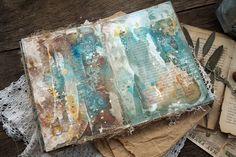 """Handmade by Smilla: Альбом """"Старинная книга"""" и анонс мастер-классов."""