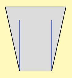Vestido facil y rapido, con volados verticales laterales : VCTRY's BLOG