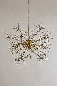 Dandelion Orbit Chandelier #anthropologie had to add this, it's so extraordinary