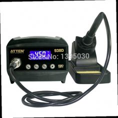 52.13$  Buy here - http://aliu0v.worldwells.pw/go.php?t=2024016224 - 1PC Atten AT938D ESD 60W Digital Welding Desoldering Solder Station Solder Iron LCD Display Thermo-Control Anti-Static 52.13$