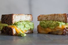 Guacamole Grilled Cheese | What's Gaby Cooking
