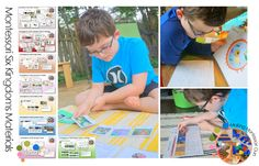 Science nature montessori homeschool on pinterest for House material packages