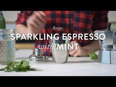 Sparkling Espresso Recipe with Mint | 1912 Pike