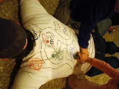 For Father's Day: kids get to play on Dad and Dad gets a mini-massage.