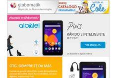 Alcatel Pixie 3 ahora en Globomatik