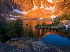 Castle Lake, White Cloud Range, Idaho