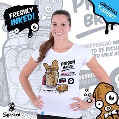 *Original Squinked T-shirt for Women. Escape Plan, Prison Break, T Shirts For Women, How To Plan, The Originals, Shopping, Tops, Fashion, Moda