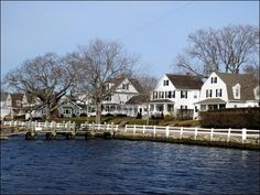 Mystic, Connecticut, USA...I used to walk this every Tuesday