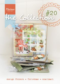 Collection #20 with many examples made with the August 2014 collection from Marianne Design