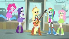 "MY LITTLE PONY: Equestria Girls: Exclusivo: ¡¡Vídeo e Imágenes del Corto ""A Case for The Bass"" MLPEG Equestria Girls Rainbow Rocks!!"