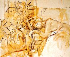 Henri Matisse - Figure endormie, 1951. Oil on canvas, 59 x 72.5cm. Muséè Matisse, Nice, France