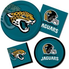 3c08a2c8fdb Creative Converting 8 Count Jacksonville Jaguars Paper Dinner Plates      Check this awesome product by going to the link at the image.