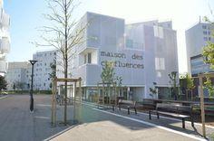 Textile facades, stretched canvas facade coverings, facade cladding - ACS Production