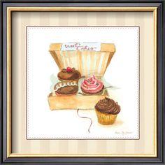 cupcake art.