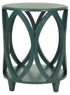 Calvin Accent Table, Teal