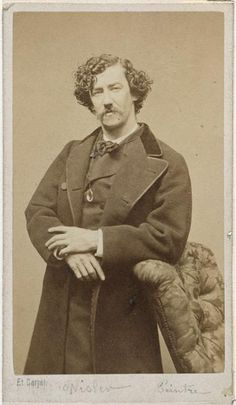 The painter James Abbott McNeill Whistler, photograph by Etienne Carjat