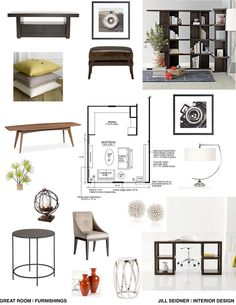 JILL SEIDNER | INTERIOR DESIGN: Concept Boards … | Interior | Pinte…