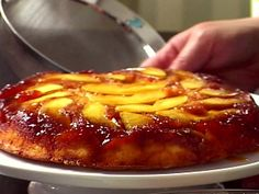 "Apple Cake ""Tatin"" Recipe : Ina Garten : Food Network"