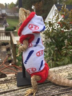 BASEBALL SPORT WHITE RED BLUE LRG SLEEVELESS HOODY SHIRT 4 UNISEX BEARDED DRAGON | eBay