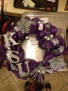 KSU wreath!!