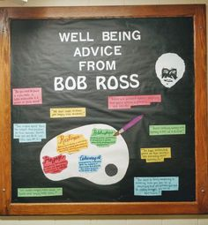 19 Ideas Door Decs College Ra Boards For 2019 College Bulletin Boards, College Board, Ra College, College Life, Ra Boards, Ra Bulletins, Res Life, School Counseling, Bob Ross