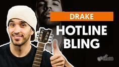 Hotline Bling - Drake (aula de violão completa)