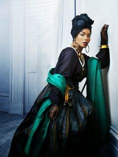 Angela Bassett - fierce in American Horror Story Coven - who else could rock clothing like that?