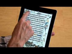 The British Library's remarkable 'eBook Treasures' series allows users to explore some of the British Library's most treasured manuscripts in detail, together with text, video and audio interpretation