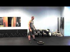 SandBell Exercise – Clean-Squat-Press-Slam
