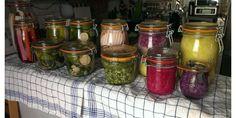 Die Fermentation ist eine uralte und gesunde Methode um Gemüse (Sauerkraut bspw.) kostengünstig und gesund haltbar zu machen. Anleitung, Tipps und Rezepte