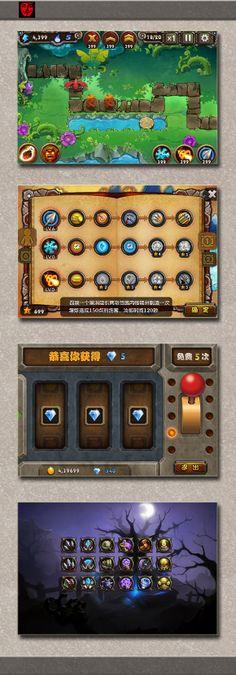 塔防游戏界面-游戏UI-GUI by 鬼...