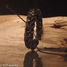 Foto Tribal Armband Zwart ATR074A.JPG