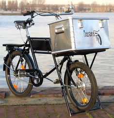 WorkCycles-monark-bakers-bike - Freight bicycle - Wikipedia, the free encyclopedia