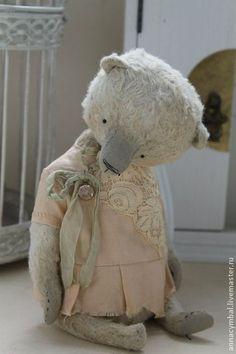 Верочка - мятный,нежно мятный,нежность,нежно-голубой,Анна Цымбал,мишки тедди