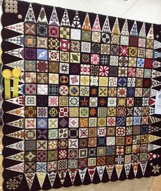 """""""My Journey with Jane"""" by Jeannette King, 2013 Naples (Florida) quilt show.  Photo by Cupcakes 'n Daisies"""
